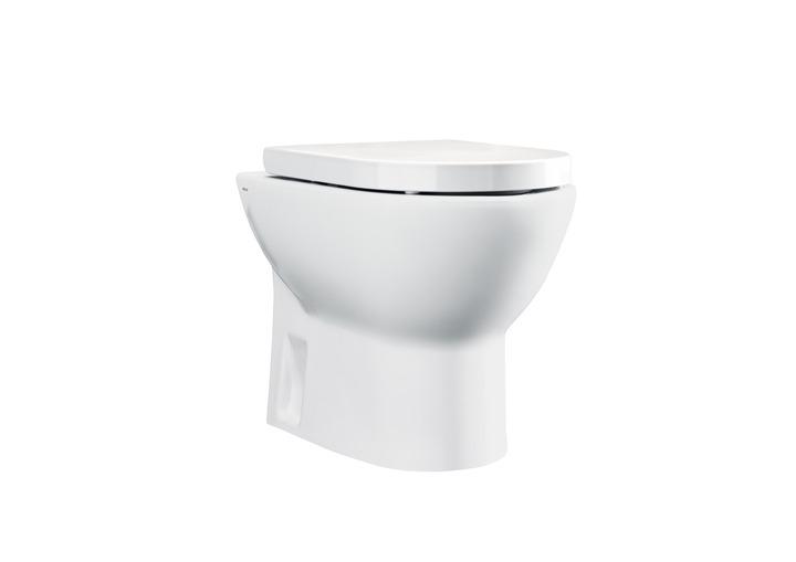 Стояща тоалетна и седалка Tipo - ROCA
