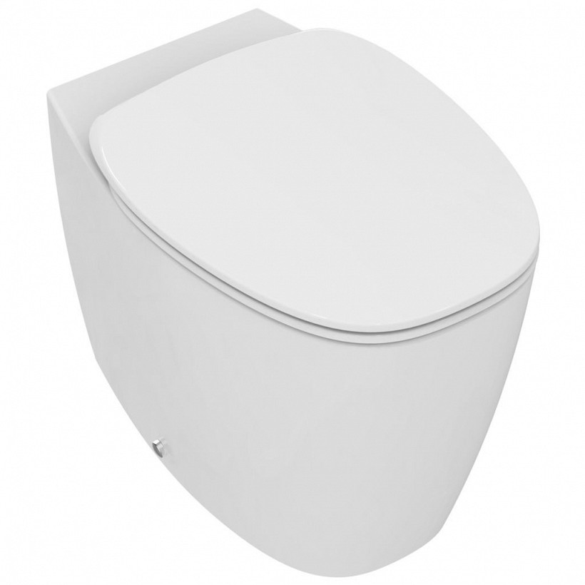 Стояща тоалетна с нормална тоалетна седалка Dea - IDEAL STANDARD