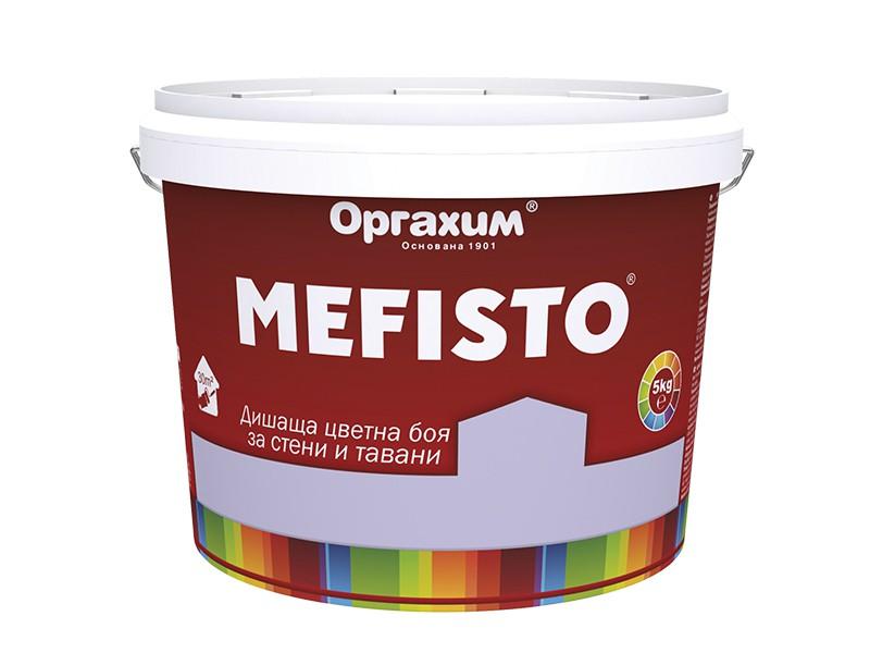 Мефисто - цветна боя за стени и тавани