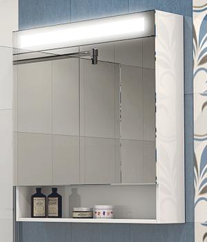 Горен шкаф за баня Парис