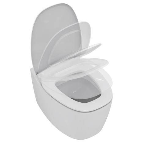 Стояща тоалетна и седалка забавено падане Dea - IDEAL STANDARD