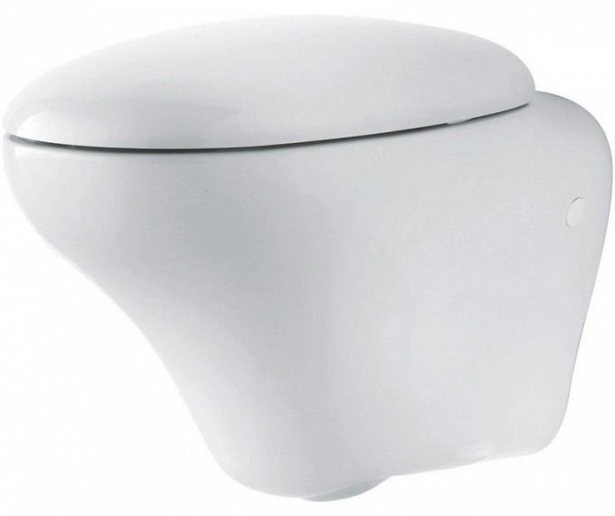 Висяща тоалетна и капак забавено падане Ego - KOLO