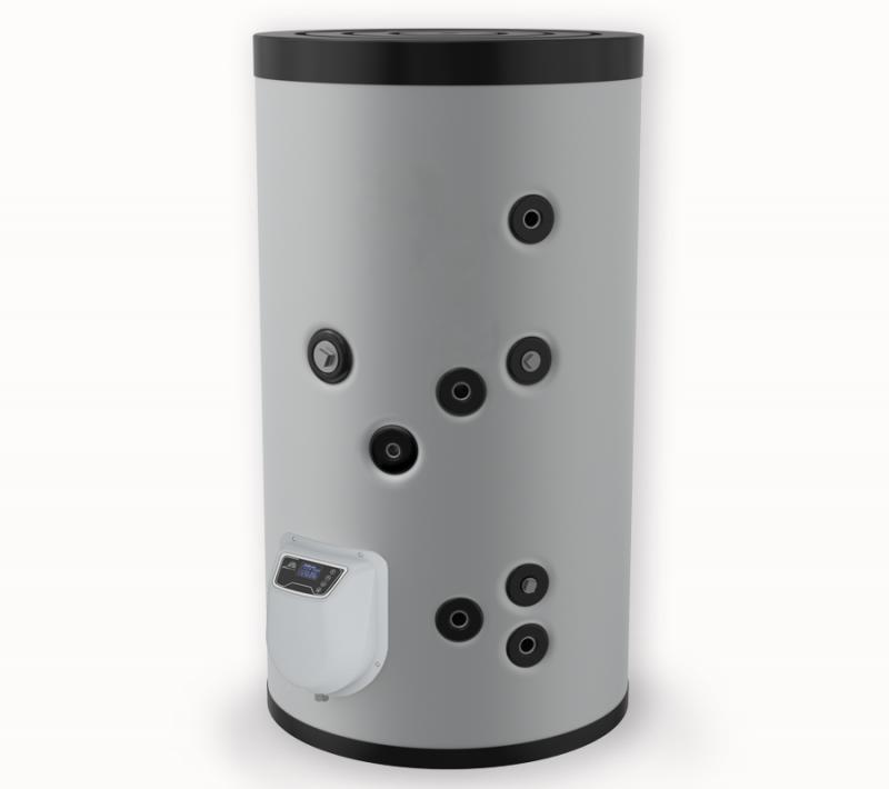 Бойлер ЕЛДОМ стоящ 200 л, една серпентина, електронно управление, неръждаем,FV20067ISE