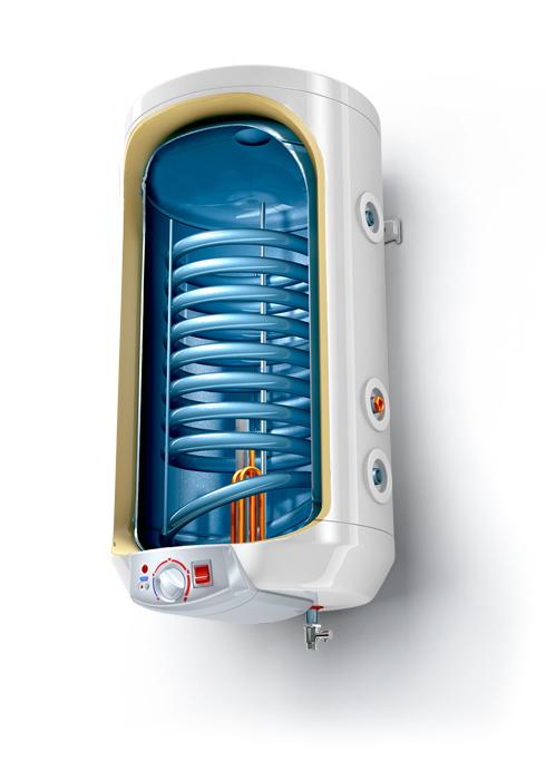 Tesy Premium Line вертикален модел със серпентина 120L