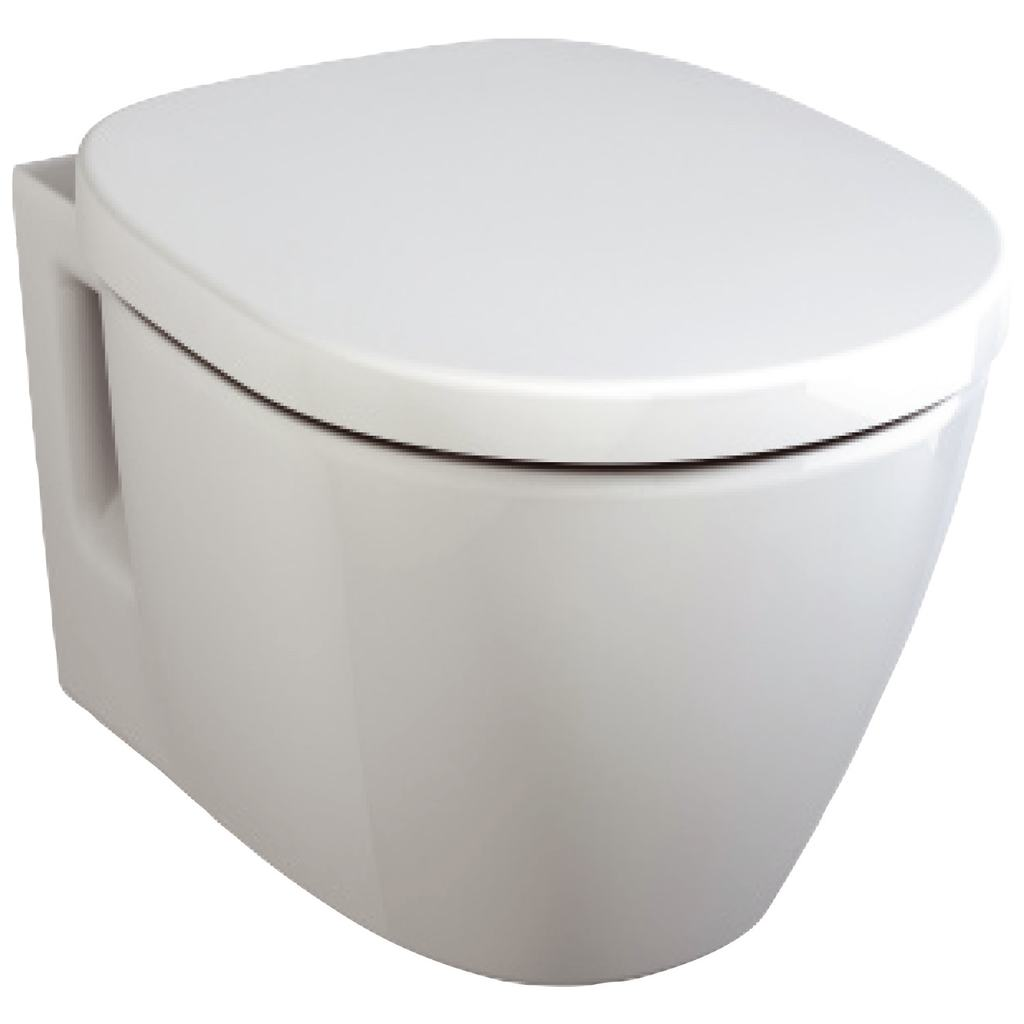 Конзолна тоалетна чиния със затворен ринг, къса проекция Ideal Standard E804601