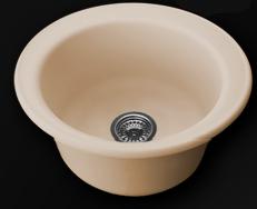 Кръгла мивка 49см. дълбочина 21см.