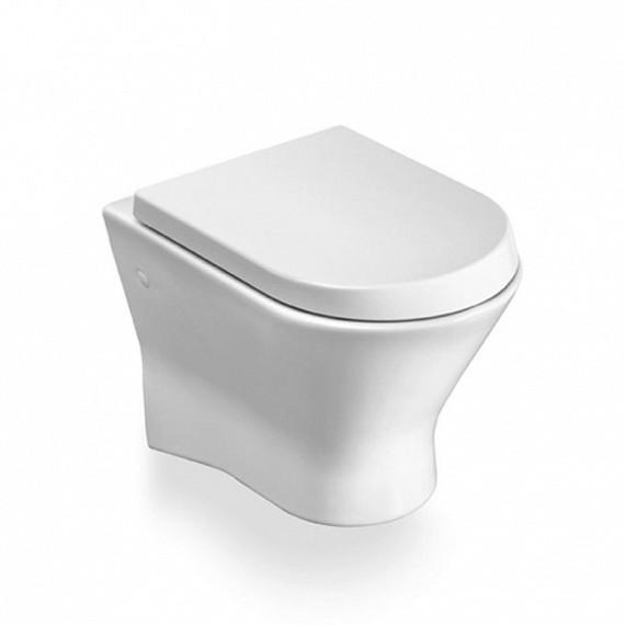 Порцеланова тоалетна за окачване на стена с хоризонтално оттичане Nexo - ROCA