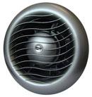 Вентилатор за баня МТВ100 с клапа, инокс
