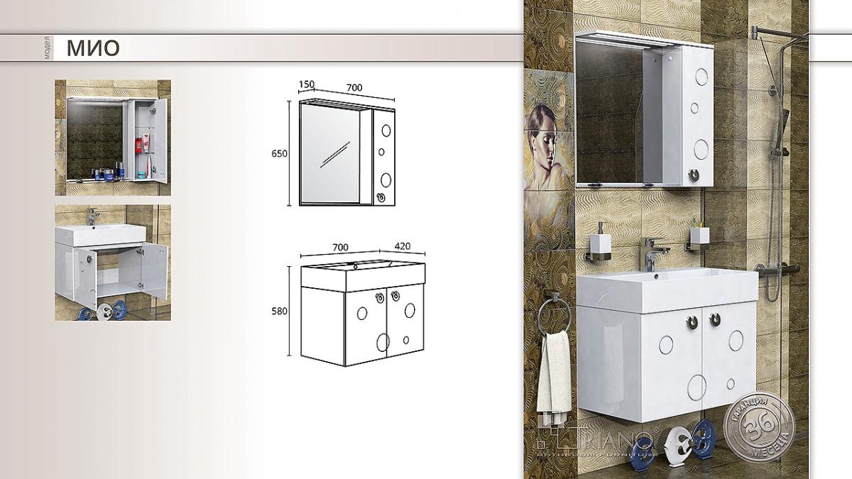 Комплект за баня МИО