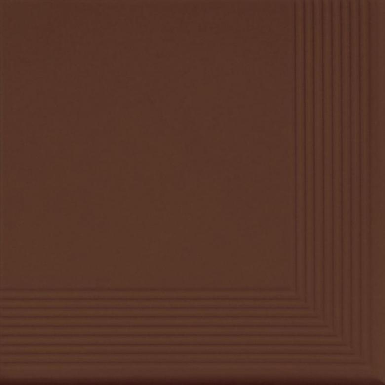 Brown - ъглова стъпална плочка 30x30(11mm)