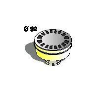 Сифон, Производител Sapil, PO51860C54, Артикул номер: 03457 кръгъл; прав