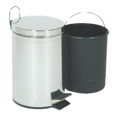 Иноксов кош за отпадъци, Производител Те-МА, Сериен номер: 6003 с педал