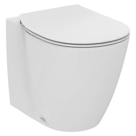 Connect Ултра тънка тоалетна седалка от дуропласт, метални панти