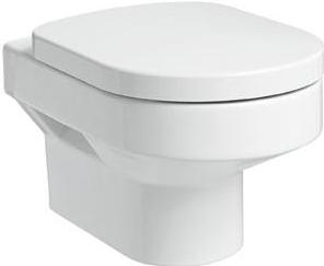 Висяща тоалетна и капак забавено падане Quattro - KOLO