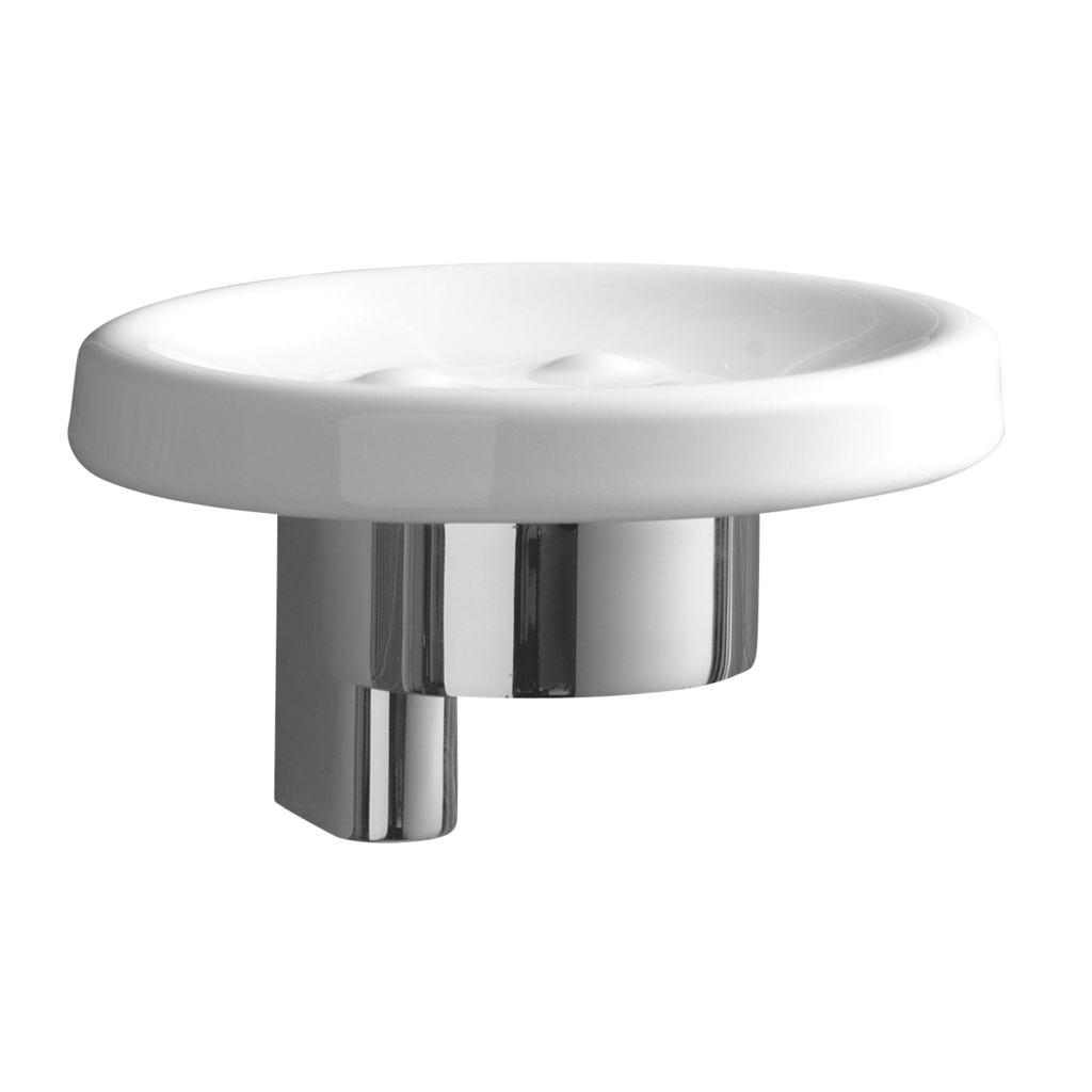 Connect Керамична сапуниера с държач