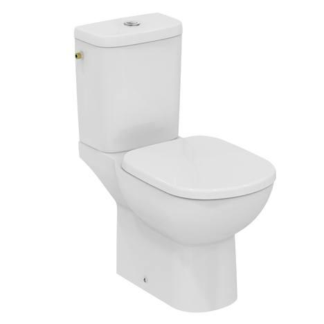 Tempo Тоалетно казанче за WC комплект с двоен бутон 2,5/4,5 L странично водоподаване Ideal Standard T427401
