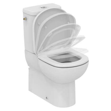 Tempo Стояща тоалетна чиния за WC комплект къса проекция 60 cm