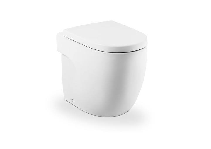 Тоалетна чиния и седалка с капак Meridian - ROCA