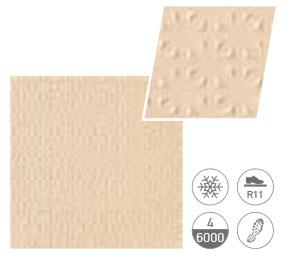 Cream - анти-слип плочка F2 звезди 20X20(9mm)