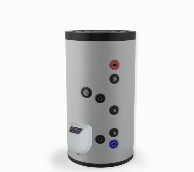 Бойлер ЕЛДОМ стоящ 150 л. една серпентина, електронно управление, емайлиран,FV15062SE